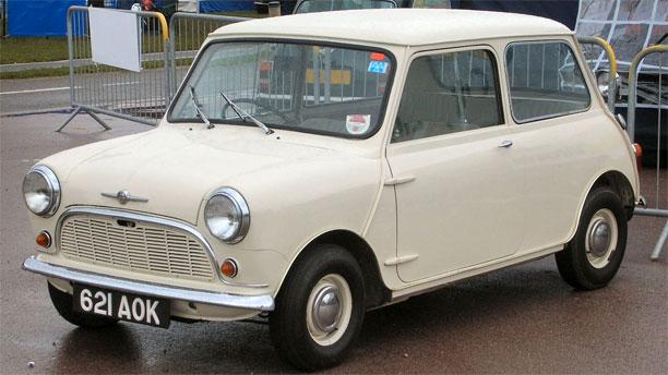 The Morris Mini-Minor 1959 (Pic: Wikipedia Commons)