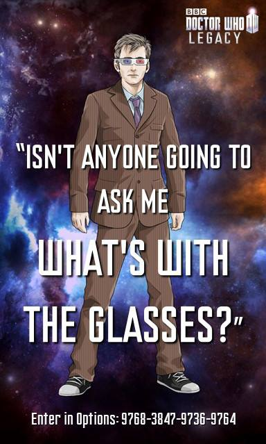 Tenth Doctor Legacy code