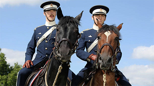Benedict Cumberbatch and Tom Hiddleston in 'War Horse' (Pic: Touchstone Pictures)