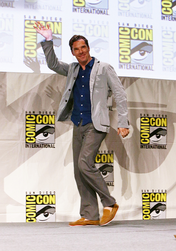 Cumberbatch. (Photo by Eric Charbonneau/Invision for Twentieth Century Fox/AP Images)