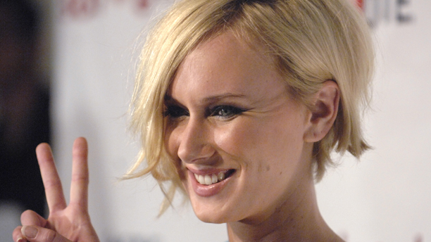 Actress Kimberly Stewart attends a Rock the Vote event Tuesday, Nov. 13, 2007 in West Hollywood, Calif. (AP Photo/Phil McCarten)