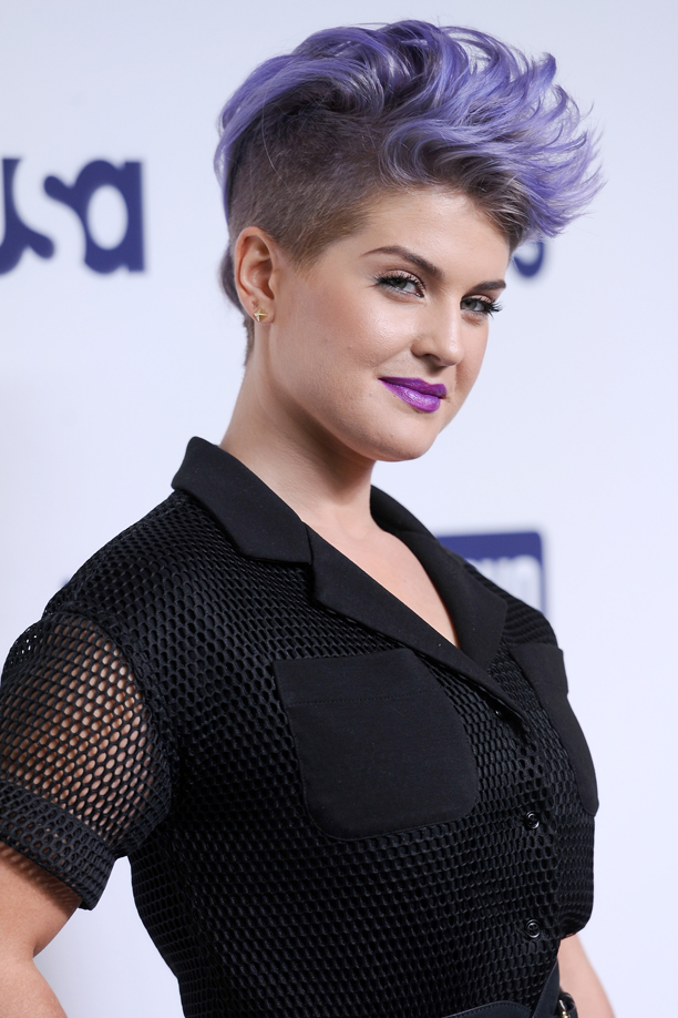 TV Personality Kelly Osbourne attends the 2014 NBCUniversal Cable Entertainment Upfront at the Jacob Javitz Center in New York, NY on May 15, 2014.  (Photo by Anthony Behar/Sipa USA)