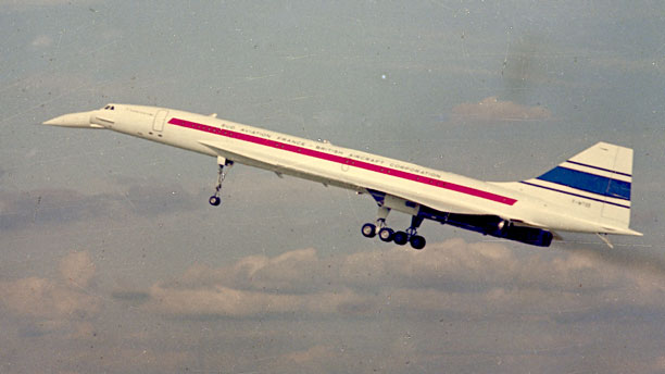 Concorde (Pic: AP Photo)
