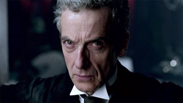 The angry face of the Twelfth Doctor (Pic: BBC)