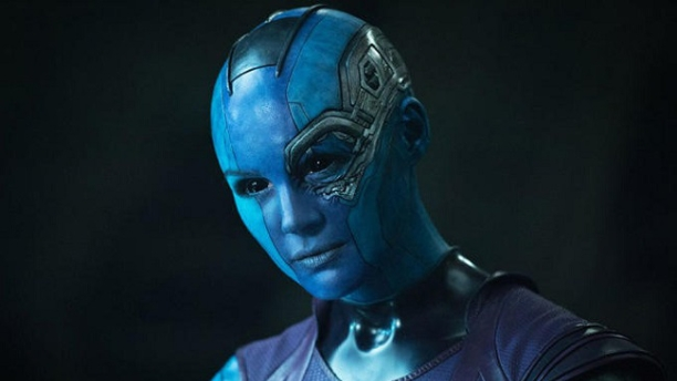 Karen Gillan in 'Guardians of the Galaxy' (Pic: Marvel)