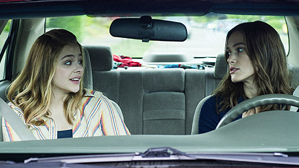 Chloe Grace Moretz and Keira Knightley in 'Laggies' (Pic: A24 Films)