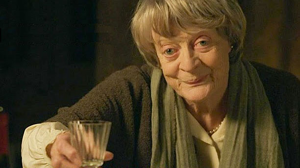 Dame Maggie Smith in 'My Old Lady' (Pic: BBC Films)