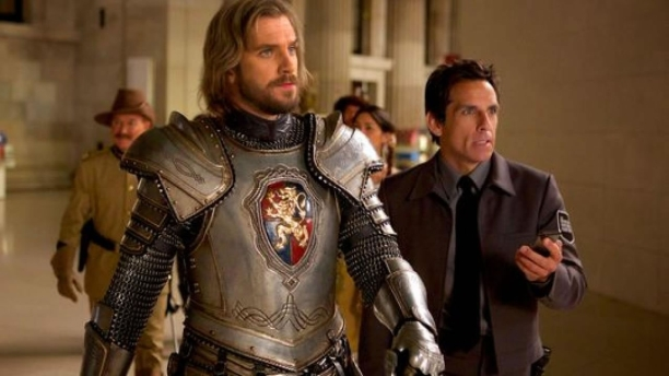 Dan Stevens and Ben Stiller in 'Night at the Museum 3' (Pic: 20th Century Fox)