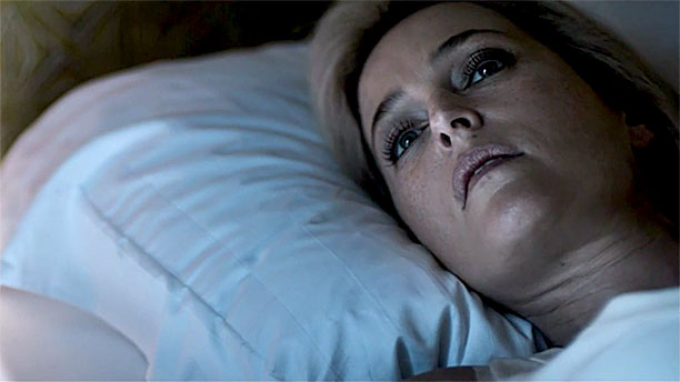 Gillian Anderson in 'The Fall'  trailer (Pic: BBC)