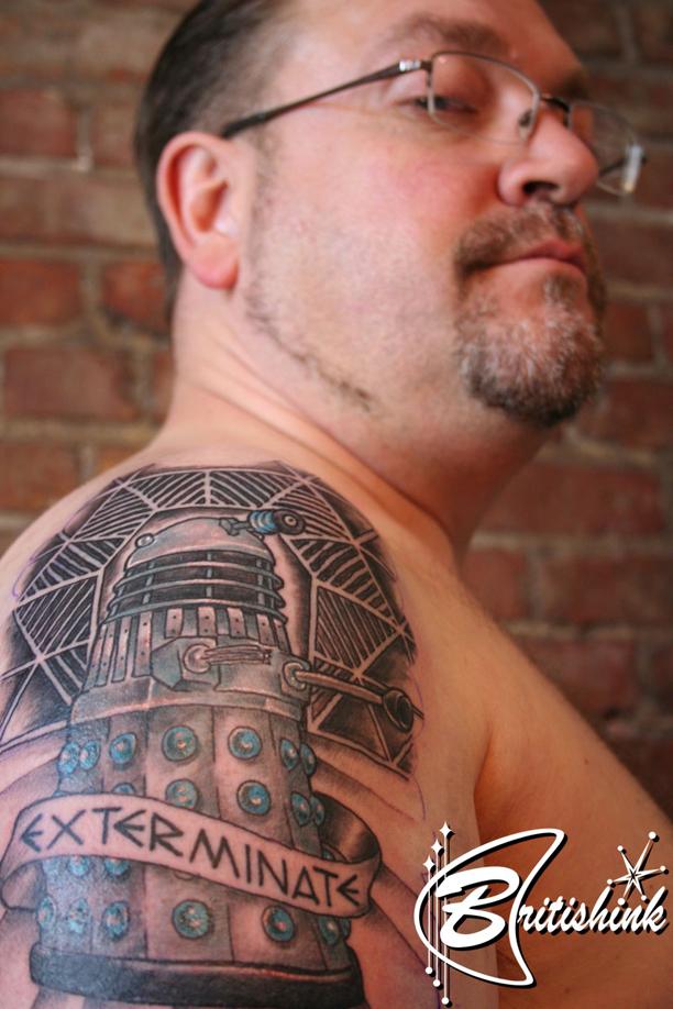 Dalek Tattoo