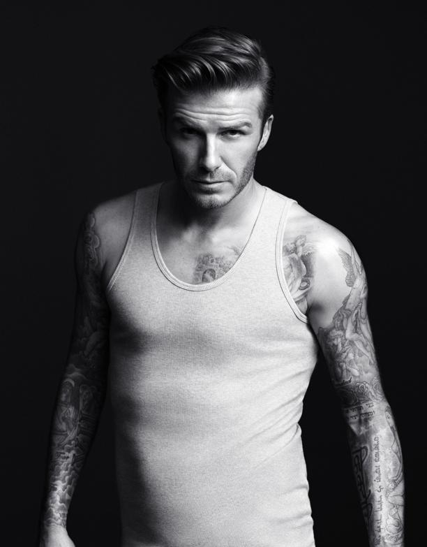 David Beckham, Undershirt, 1
