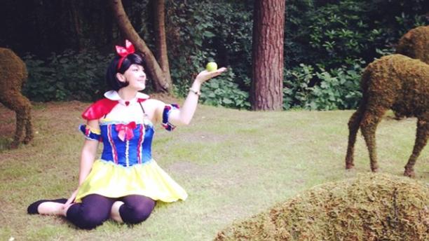 Fancy dress at the park. (Instagram)