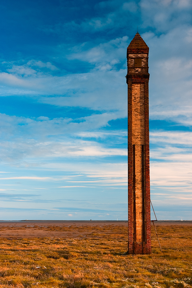 Historic monument - Very old lighthouse in Rumpside (AP)
