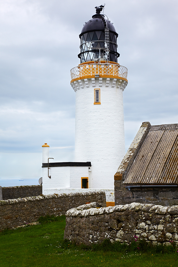 Lighthouse at Dunnet Head - the north point of scotland (AP)