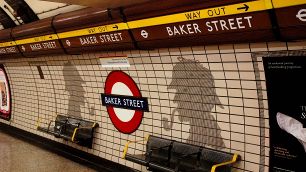 Baker Street's Bakerloo line platform (Pic: Mike Knell/Wikimedia Commons)