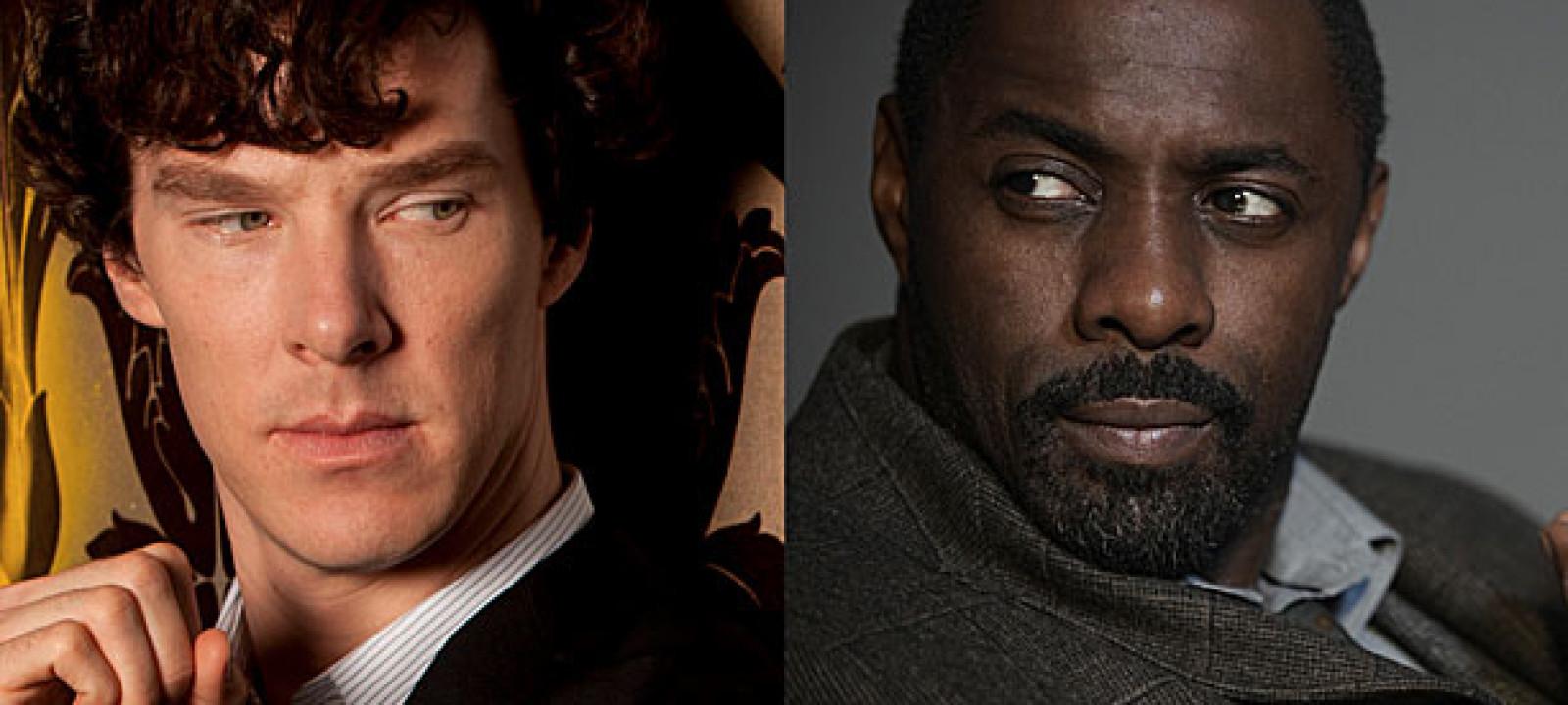 Benedict Cumberbatch and Idris Elba