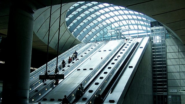 Canary Wharf station (Pic: Ian Mockford)