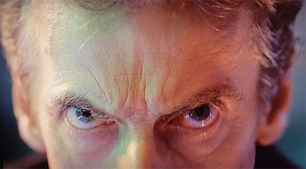 "Peter Capaldi's eyes - ""The Day of the Doctor"""