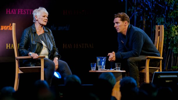 Dame Judi Dench and Benedict Cumberbatch will appear together in 'The Hollow Crown: The Wars of the Roses.' (Pic: Rex Features/AP)