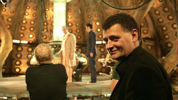 Steven Moffat oversees 'Time Crash' (Pic: BBC)