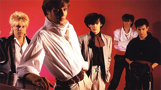 "Duran Duran from the cover of their debut album ""Duran Duran"" (Pic: EMI)"