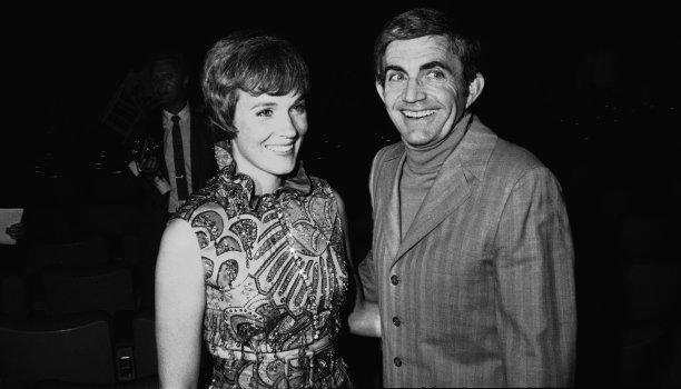 Although it did little for her career, Darling Lili introduced Andrews to her second husband, director Blake Edwards. The pair were married for 41 years until his death in 2010. (David Smith/AP)