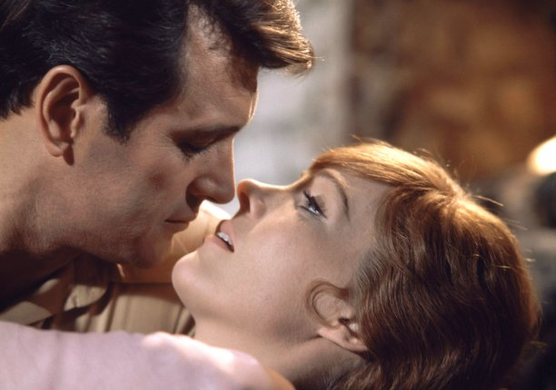 Filmed in 1968, Darling Lili teamed Andrews with actor Rock Hudson. Beset by production problems, it wasn't released until 1970, and was a commercial flop. (David Smith/AP)