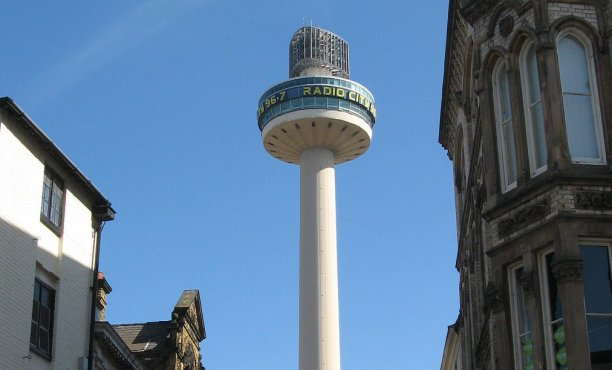 The Radio City Tower originally opened in 1969 as St. John's Beacon, with a revolving restaurant at the top. After the restaurant's closure, it lay derelict for two decades, until finding its calling as the home of the city's commercial radio station in 1999. (iknow-uk/Flickr)