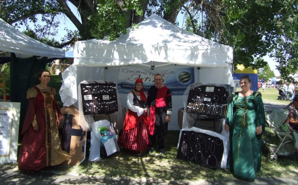 Montana residents get into the spirit of things at the Renaissance Festival (Montana RenFest)