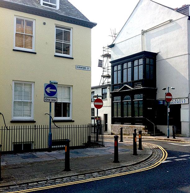 Sherlock - Dumford Street, Plymouth