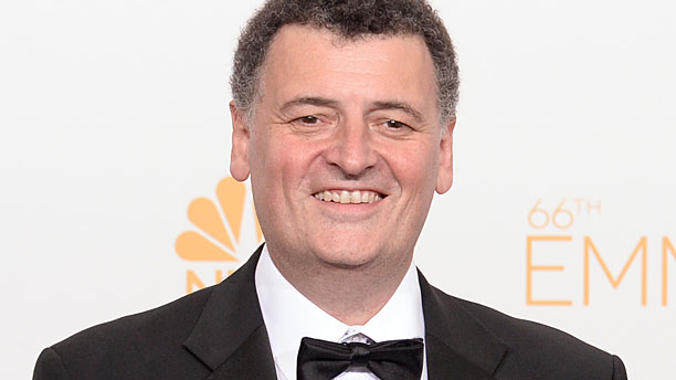 Steven Moffat at the 2014 Emmy Awards (Pic: Dan Steinberg/Invision for the Television Academy/AP Images)
