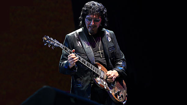 Tony Iommi of Black Sabbath (Pic: Steve C. Mitchell/Invision/AP)