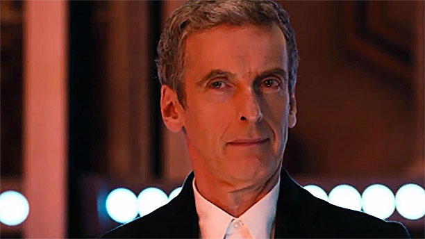 "Peter Capaldi as the Doctor in the 'Doctor Who' ""Deep Breath"" trailer (Pic: BBC)"