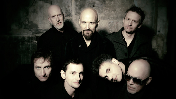 Tim Booth (top center) of the Manchester band James took part in a #MindTheChat on Wednesday, September 10. (Photo: BMG Chrysalis/Cooking Vinyl)