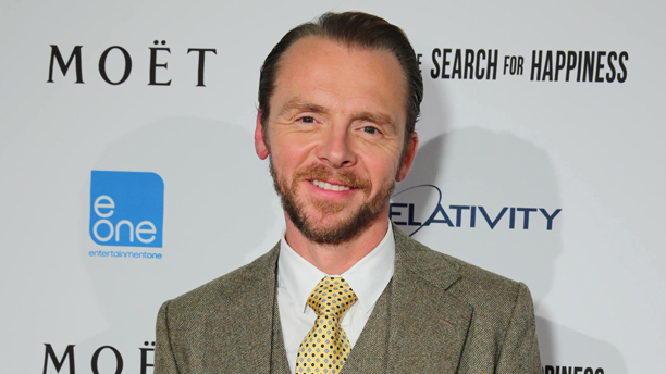 Simon Pegg in Toronto Sept 7. (Photo: Eric Charbonneau/Invision for Relativity Media/AP Images)