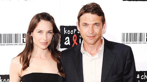 Dougray Scott and Claire Forlani at the Keep A Child Alive Black Ball  (Rex Features via AP Images).