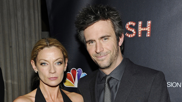 Michelle Gomez and Jack Davenport at the world-premiere of SMASH. (AP Photo/Charles Sykes, NBC)