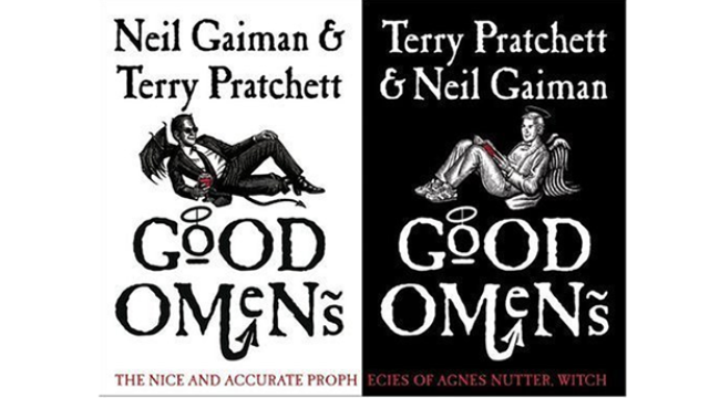 Good Omens, Book Cover