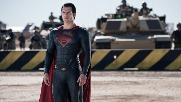 Henry Cavill stars as Clark Kent/Superman in Man of Steel. (DC Comics/Warner Bros.)