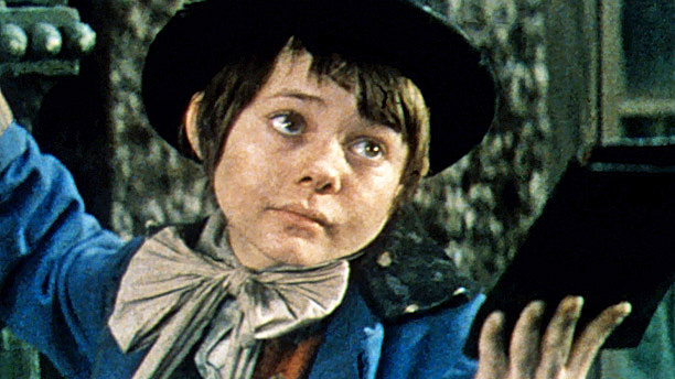 Jack Wild as the Artful Dodger in Oliver! A proper
