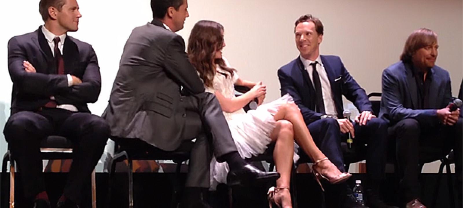Benedict Cumberbatch Q&A