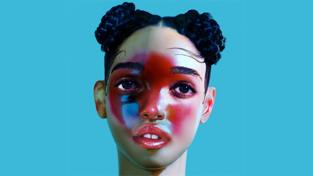 The cover of fka twigs' album LP1