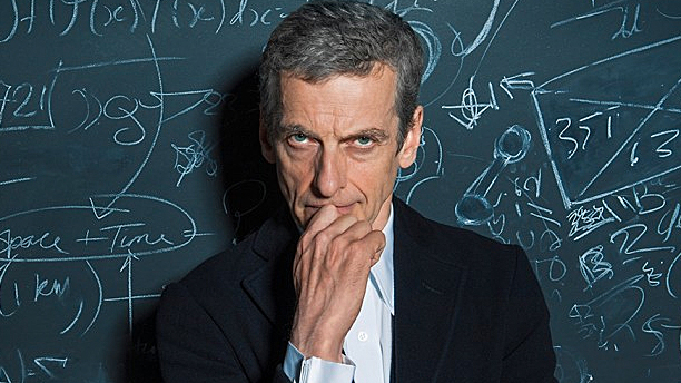 The Doctor and his chalkboard (Pic: BBC)