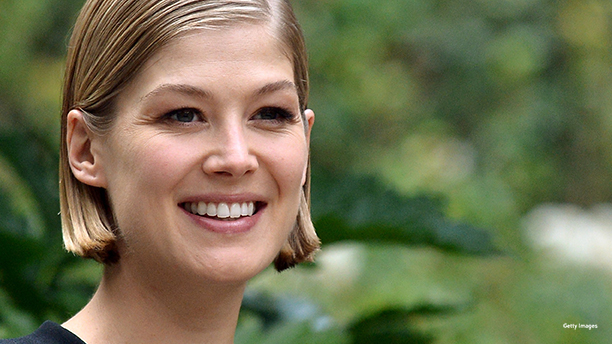 Rosamund Pike. (Photo: TIZIANA FABI/AFP/Getty Images)