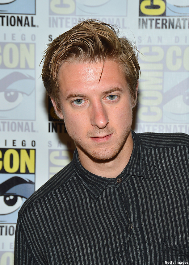 "SAN DIEGO, CA - JULY 15:  Actor Arthur Darvill attends ""Dr. Who"" Press Line during Comic-Con International 2012 at Hilton San Diego Bayfront Hotel on July 15, 2012 in San Diego, California.  (Photo by Frazer Harrison/Getty Images)"