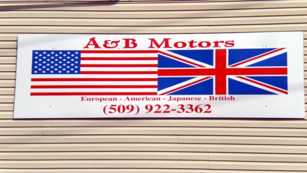 American Flag/Union flag fusion (A&B Motors)!