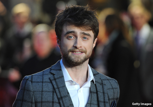 "LONDON, ENGLAND - OCTOBER 20:  Daniel Radcliffe attends the UK Premiere of ""Horns"" at Odeon West End on October 20, 2014 in London, England.  (Photo by Stuart C. Wilson/Getty Images)"