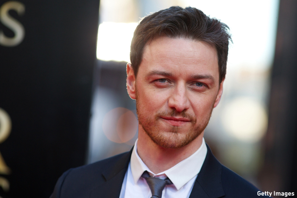 Scottish actor James McAvoy poses for pictures on the red carpet upon arrival to attend the Lawrence Olivier Awards for theatre at the Royal Opera House in central London on April 13, 2014. AFP PHOTO/ANDREW COWIE        (Photo credit should read ANDREW COWIE,ANDREW COWIE/AFP/Getty Images)