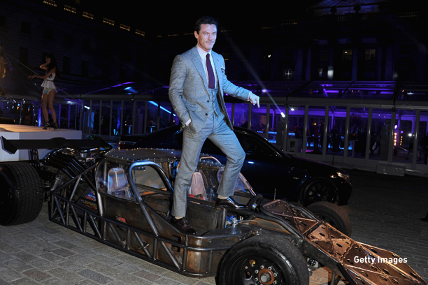 "LONDON, ENGLAND - MAY 07:  Actor Luke Evans attends the ""Fast & Furious 6"" World Premiere after party at Somerset House on May 7, 2013 in London, England.  (Photo by Stuart C. Wilson/Getty Images for Universal Pictures)"