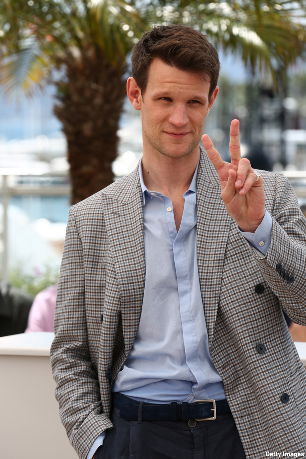 "CANNES, FRANCE - MAY 20:  Actor Matt Smith attends the ""Lost River"" photocall during the 67th Annual Cannes Film Festival on May 20, 2014 in Cannes, France.  (Photo by Tim P. Whitby/Getty Images)"